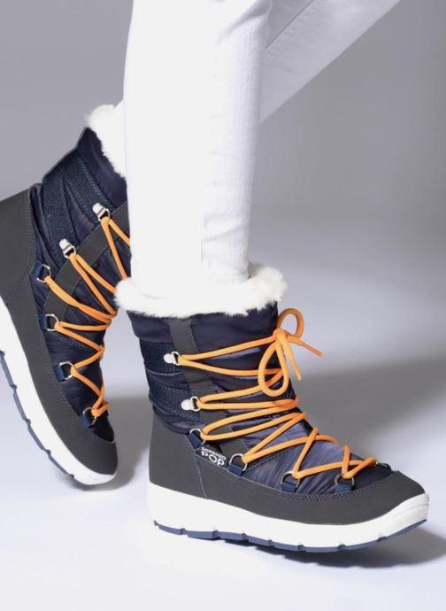 Sport shoes SARENZA POP MOWFLAKE Bottes de neige  Snow boots Blue view from underneath / model view