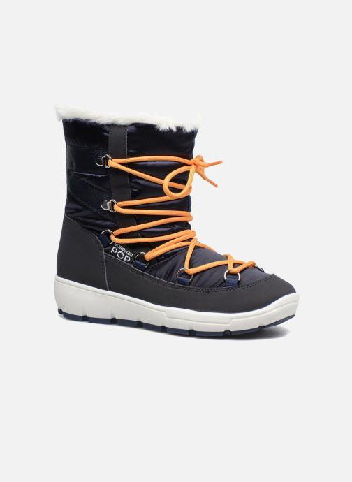 Chaussures de sport SARENZA POP MOWFLAKE Bottes de neige  Snow boots Bleu vue détail/paire
