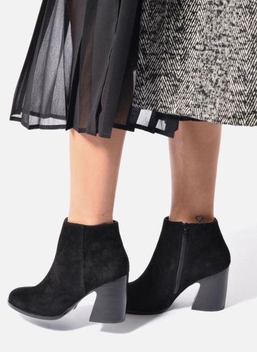 Bottines et boots Mellow Yellow Caflowery Noir vue bas / vue portée sac