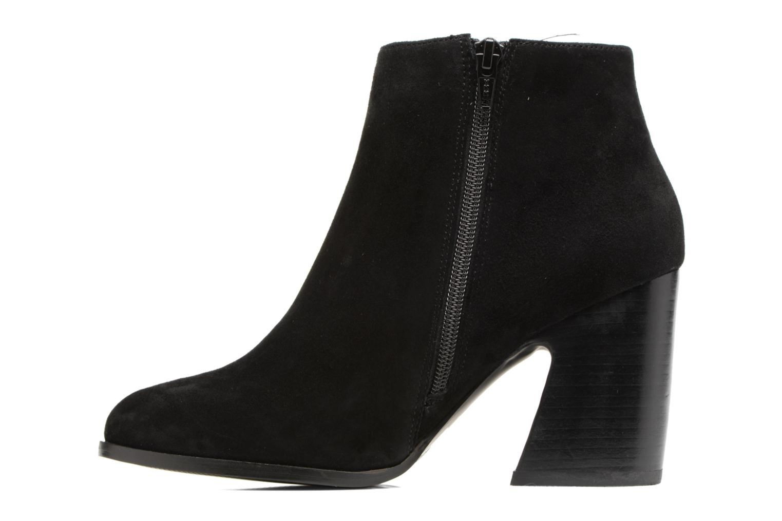 Ankle boots Mellow Yellow Caflowery Black front view