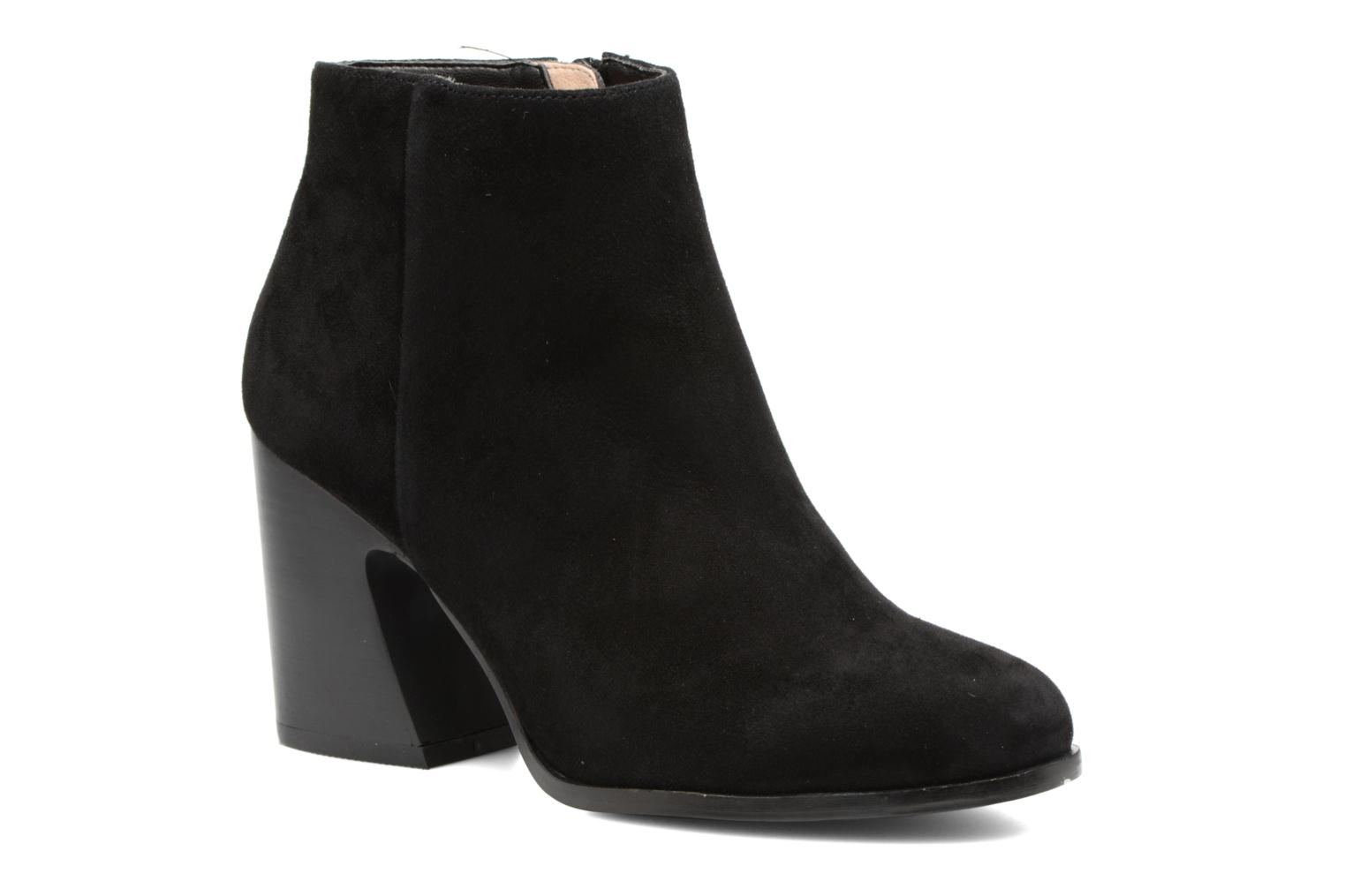 Ankle boots Mellow Yellow Caflowery Black detailed view/ Pair view