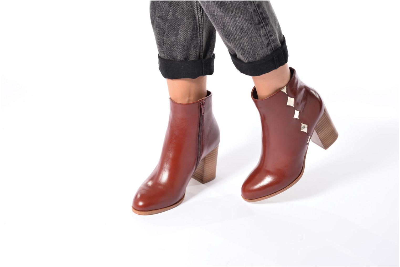 Bottines et boots Mellow Yellow Ceanothe Marron vue bas / vue portée sac