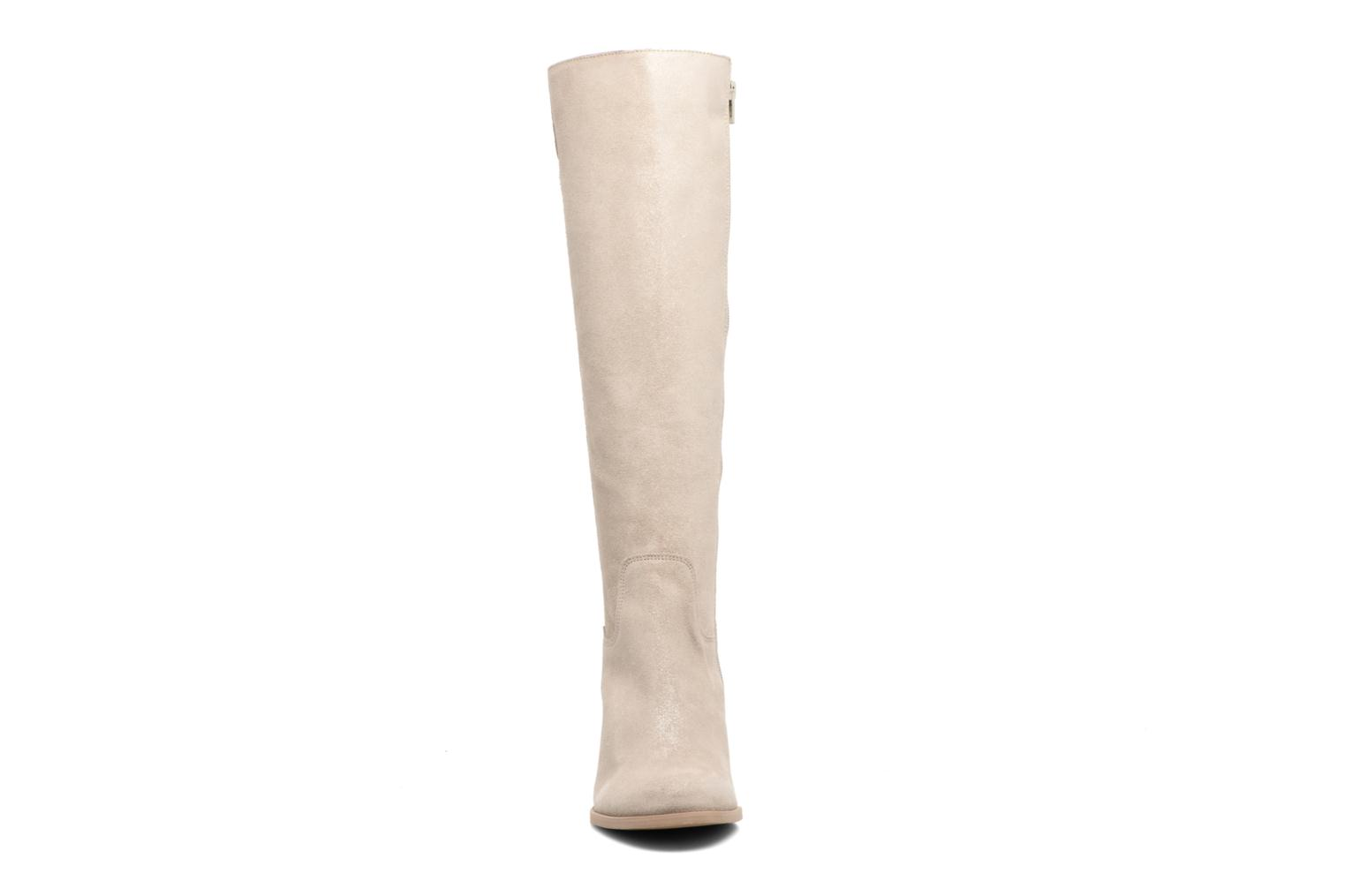 Bottes Mellow Yellow Charyna Beige vue portées chaussures