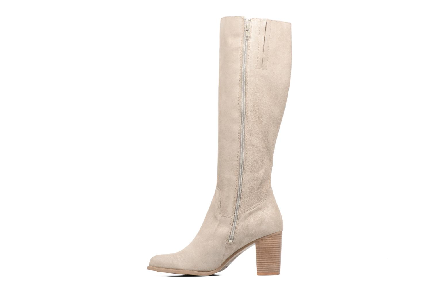 Bottes Mellow Yellow Charyna Beige vue face