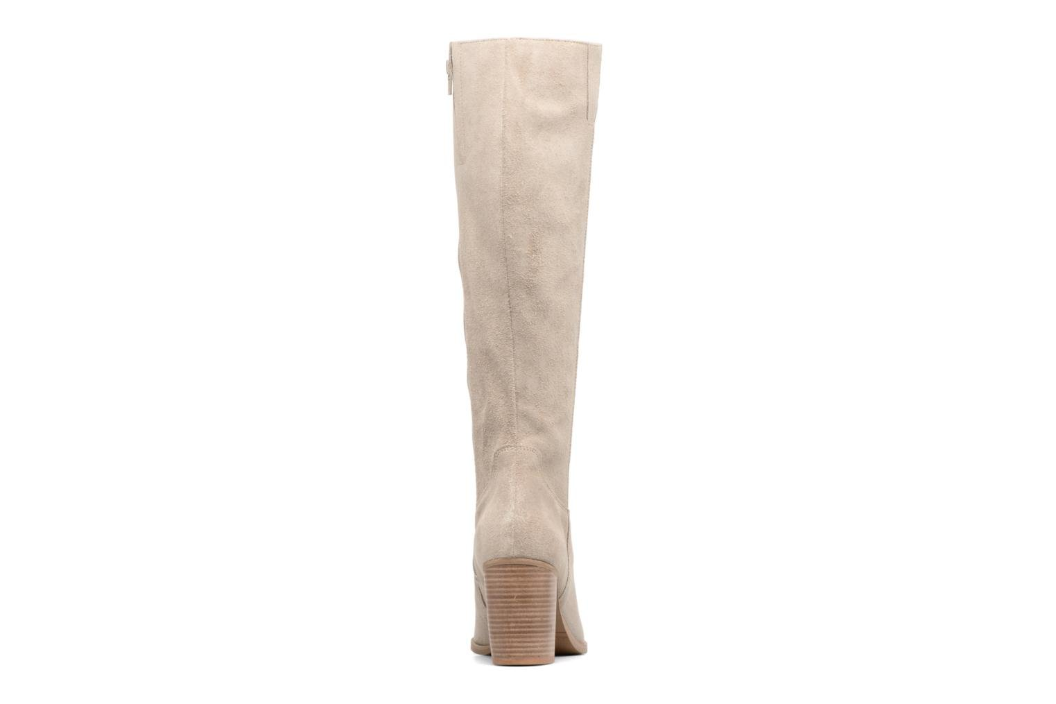 Bottes Mellow Yellow Charyna Beige vue droite