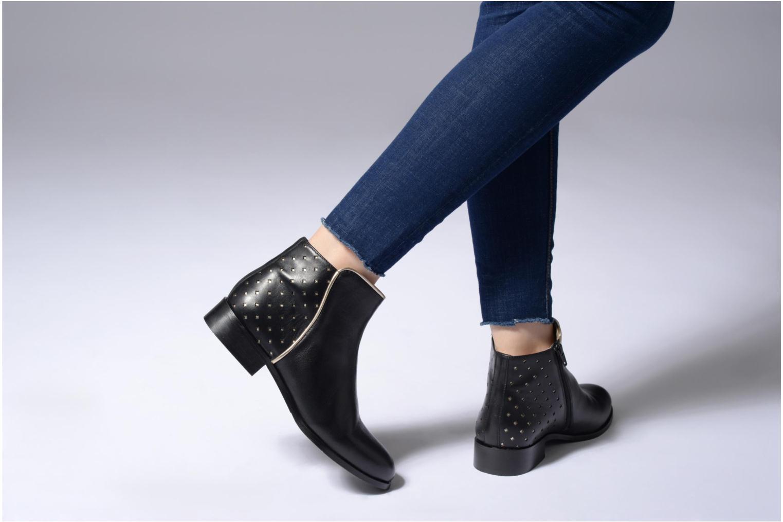 Bottines et boots Mellow Yellow Charlyn Noir vue bas / vue portée sac