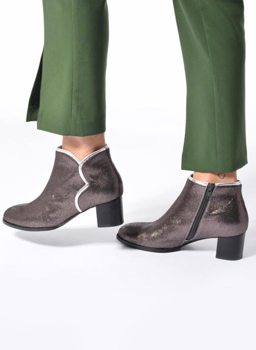 Bottines et boots Mellow Yellow Calouna Rouge vue bas / vue portée sac