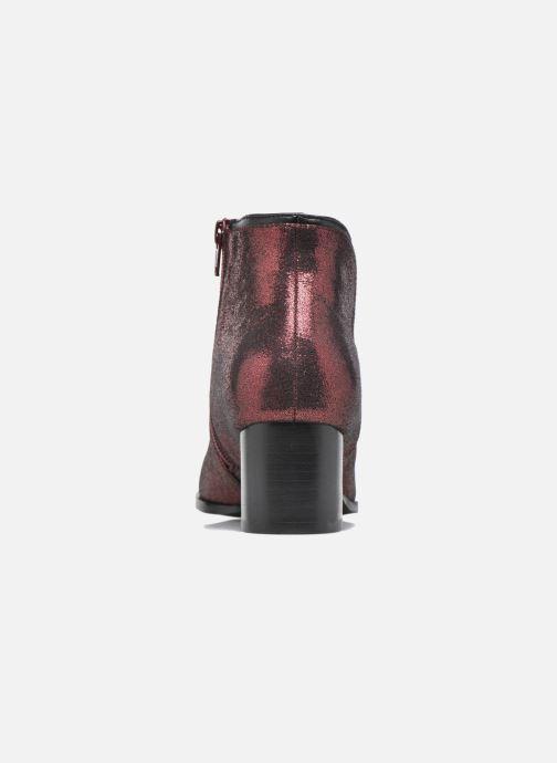 Bottines et boots Mellow Yellow Calouna Rouge vue droite