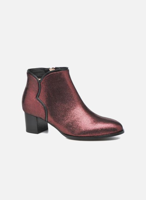 Ankle boots Mellow Yellow Calouna Red detailed view/ Pair view