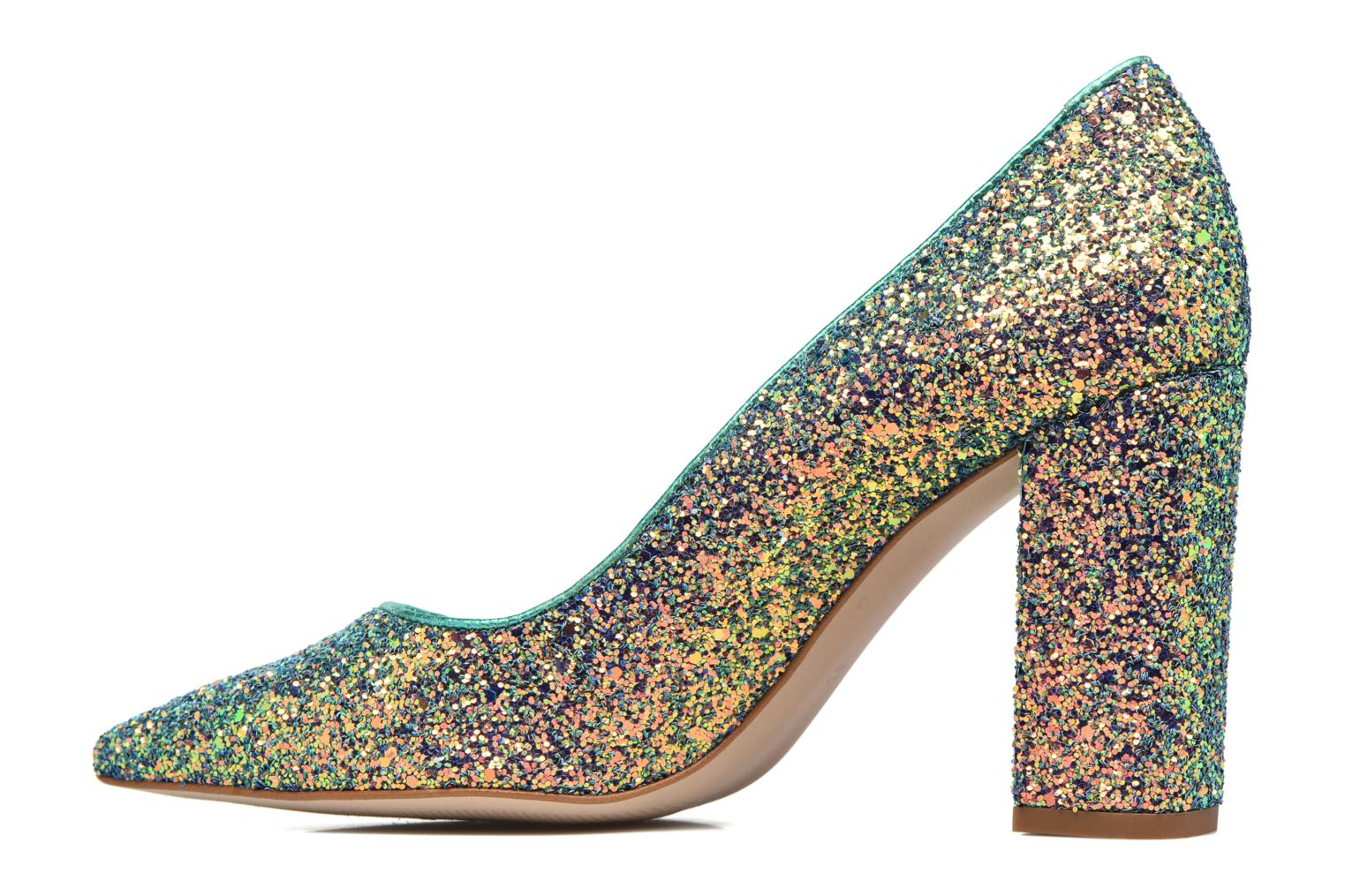 High heels Mellow Yellow Céchoupine Multicolor front view