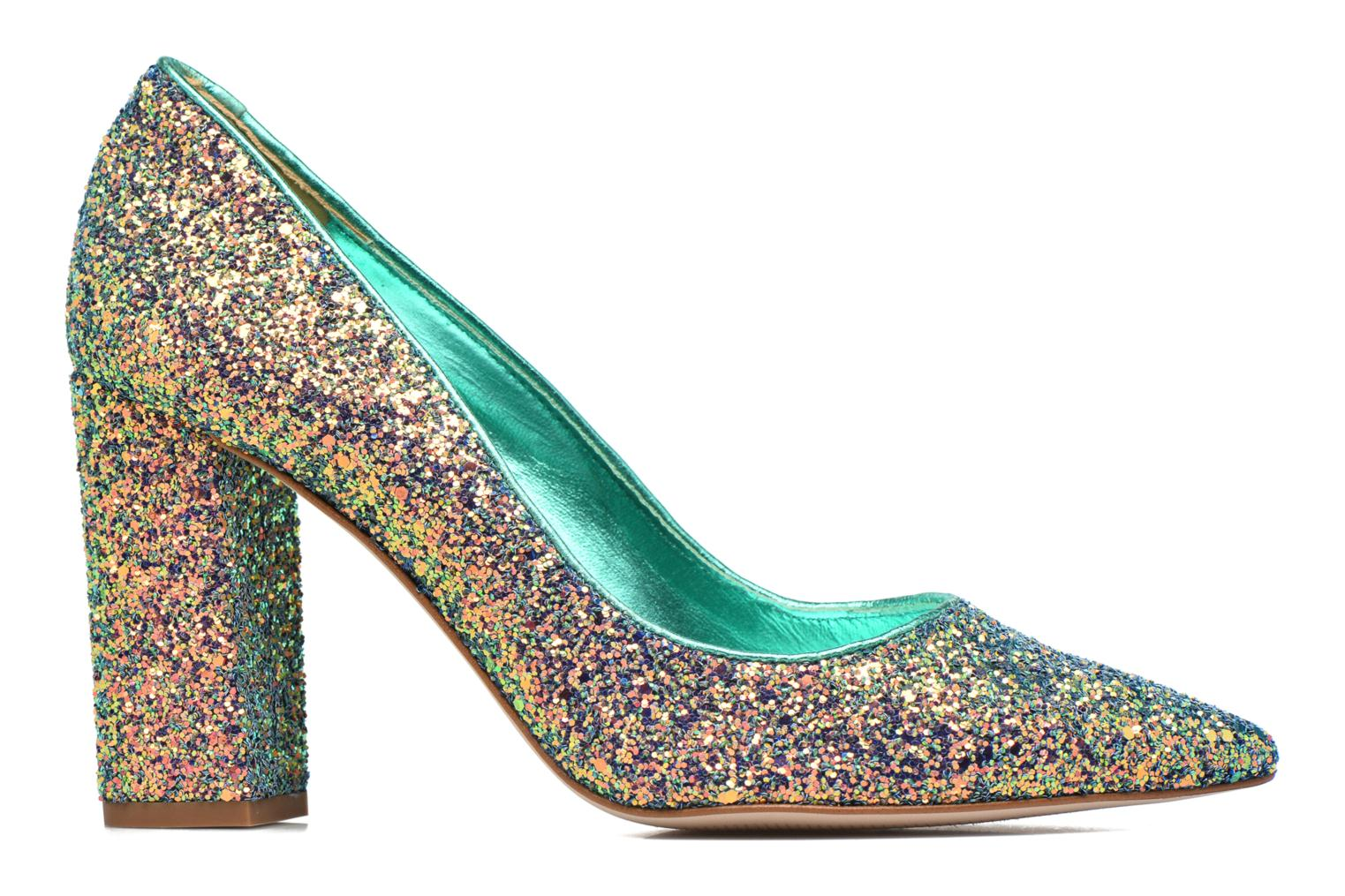 High heels Mellow Yellow Céchoupine Multicolor back view