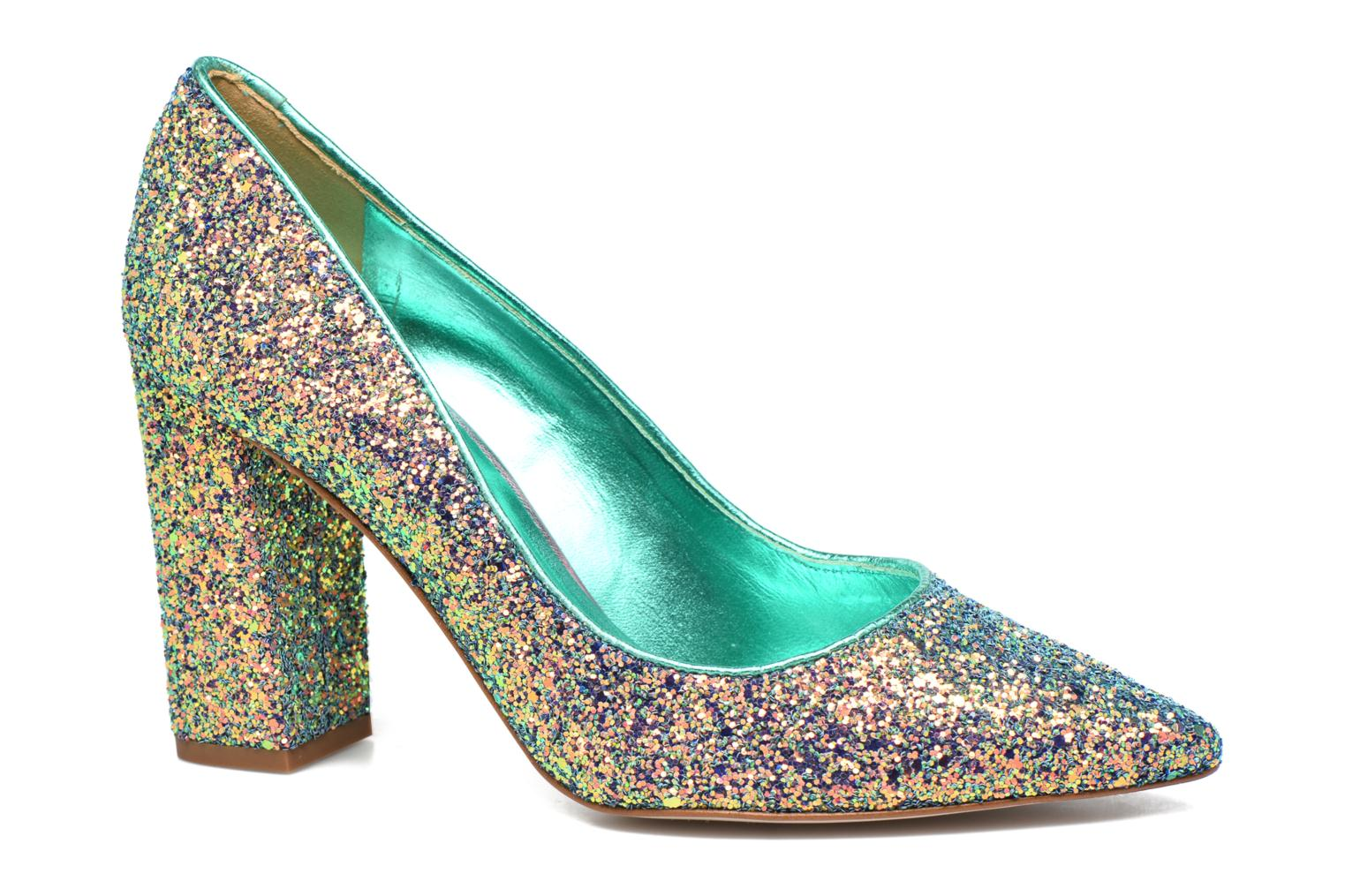 High heels Mellow Yellow Céchoupine Multicolor detailed view/ Pair view