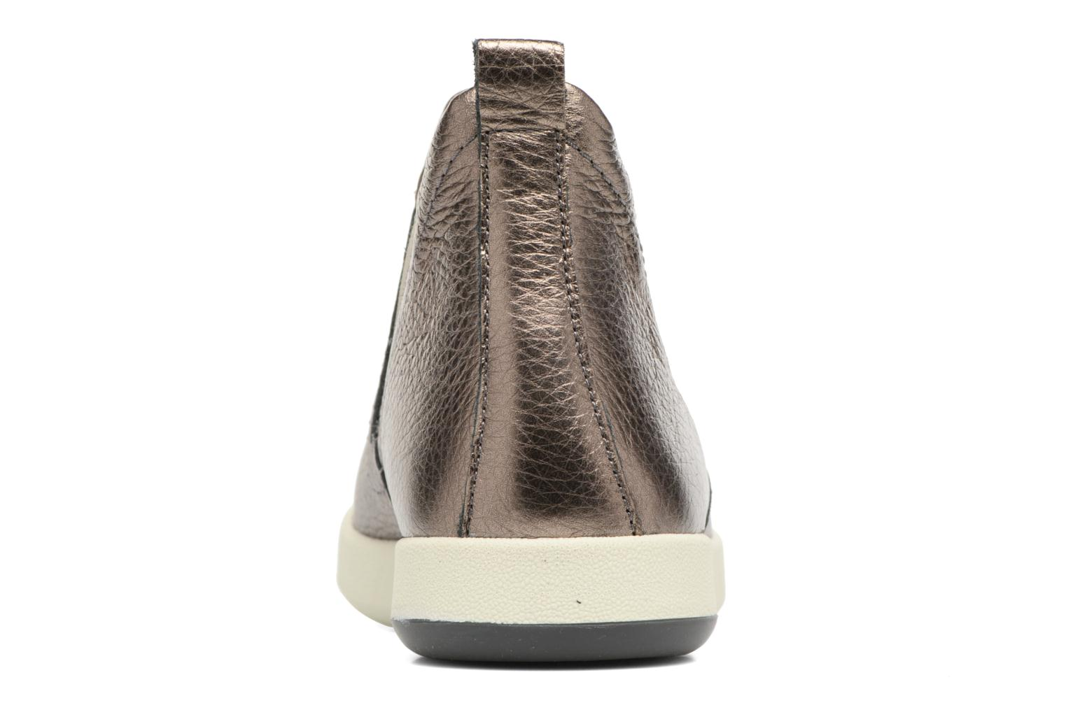 Ankle boots Aerosoles Shipment Bronze and Gold view from the right