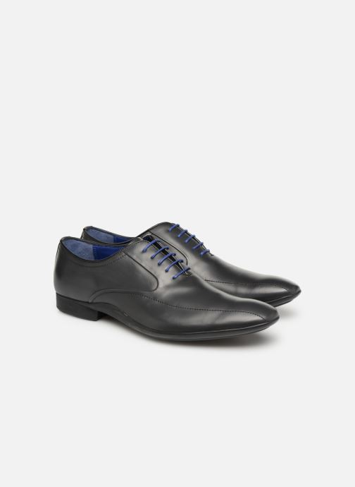 Zapatos con cordones Azzaro GEORGIL Gris vista 3/4