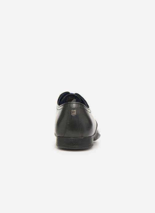 Zapatos con cordones Azzaro GEORGIL Gris vista lateral derecha