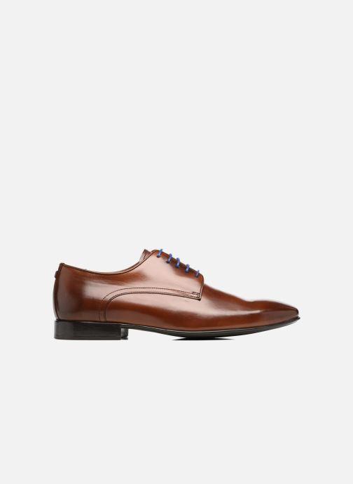 Chaussures à lacets Azzaro NABALI Marron vue derrière