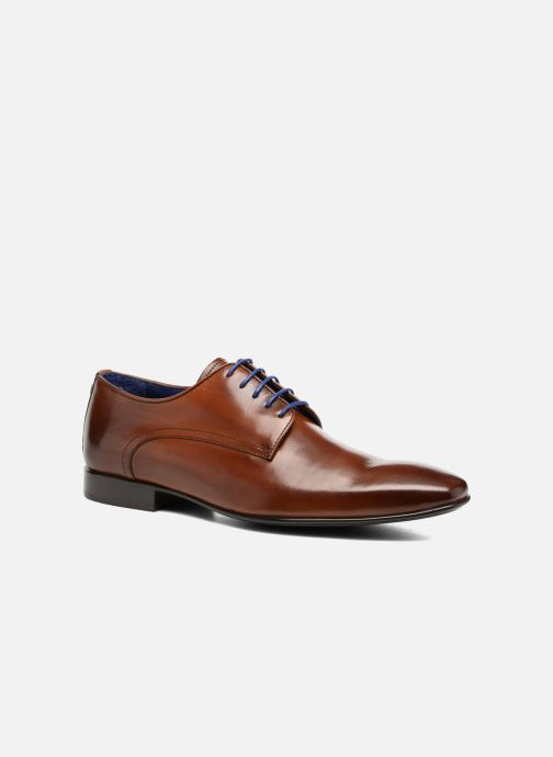 Zapatos con cordones Azzaro NABALI Marrón vista de detalle / par
