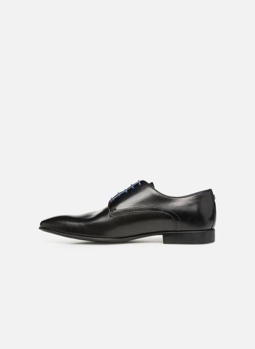Zapatos con cordones Azzaro NABALI Negro vista de frente