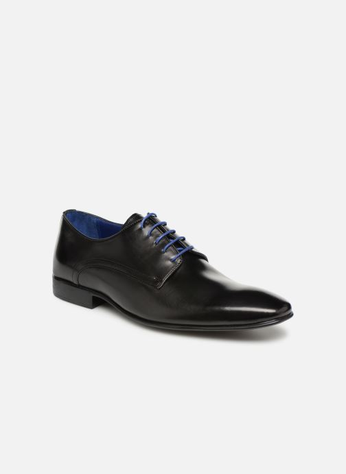 Lace-up shoes Azzaro NABALI Black detailed view/ Pair view