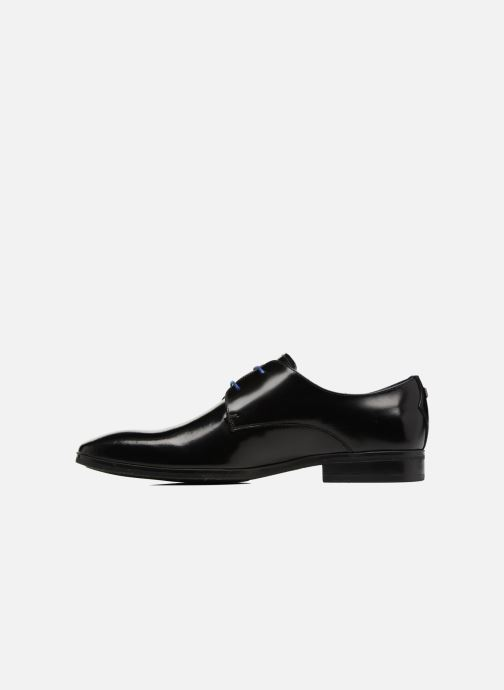 Lace-up shoes Azzaro NOGREL Black front view
