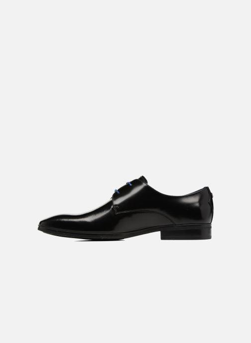 Zapatos con cordones Azzaro NOGREL Negro vista de frente