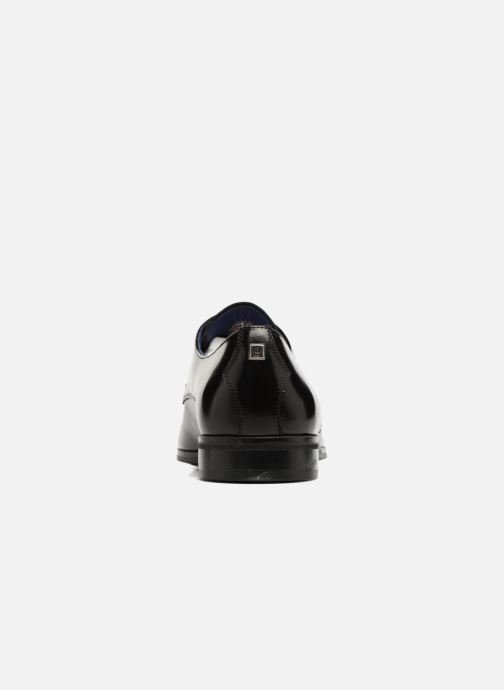 Lace-up shoes Azzaro NOGREL Black view from the right