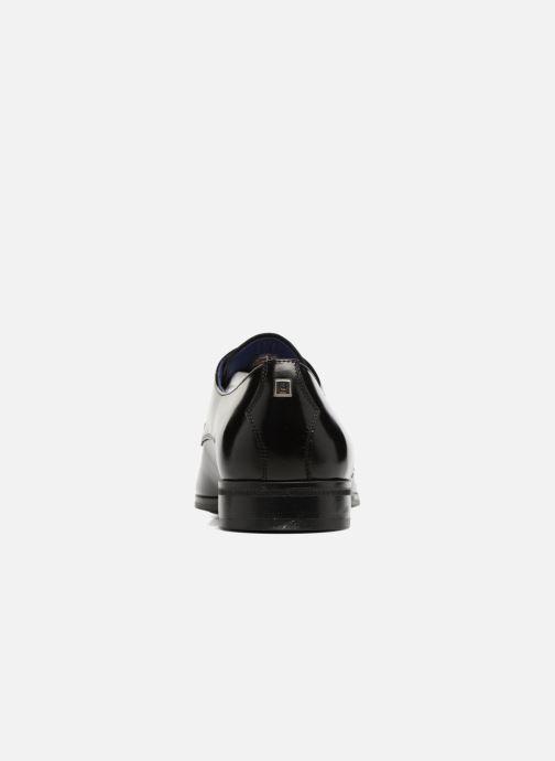 Zapatos con cordones Azzaro NOGREL Negro vista lateral derecha