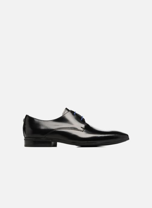 Lace-up shoes Azzaro NOGREL Black back view