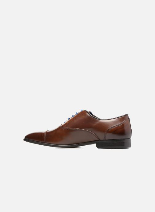 Lace-up shoes Azzaro RAEL Brown front view