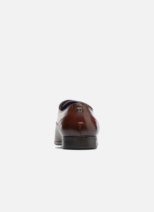 Chaussures à lacets Azzaro RAEL Marron vue droite