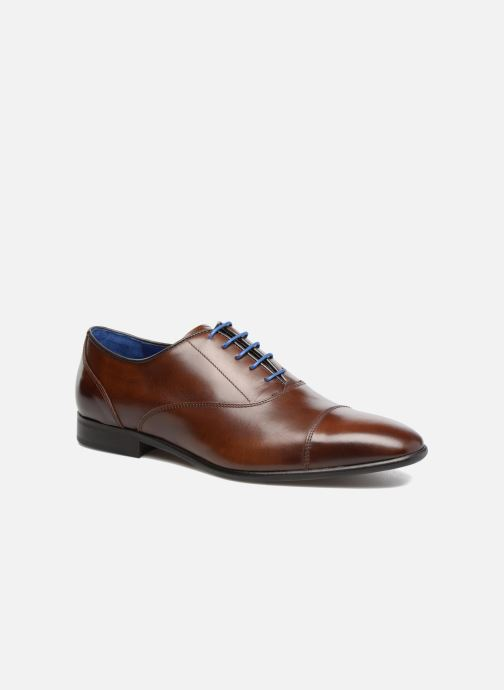 Lace-up shoes Azzaro RAEL Brown detailed view/ Pair view