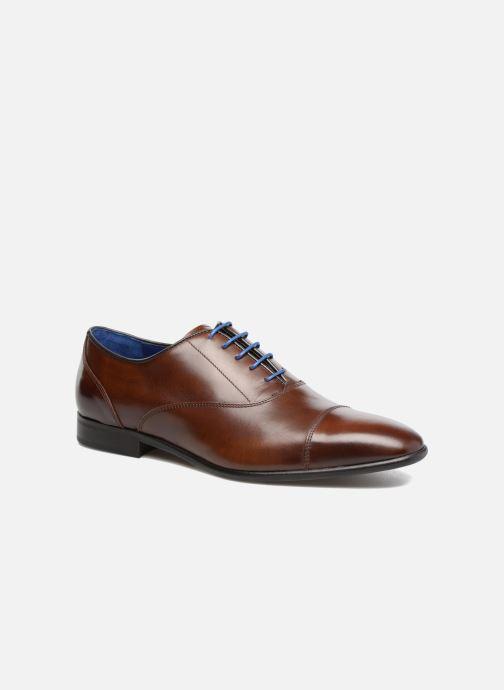 Chaussures à lacets Azzaro RAEL Marron vue détail/paire