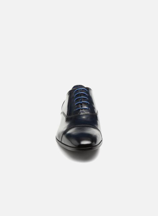 Chaussures à lacets Azzaro RAEL Bleu vue portées chaussures