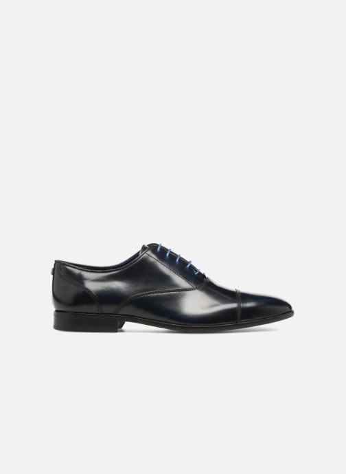 Lace-up shoes Azzaro RAEL Blue back view