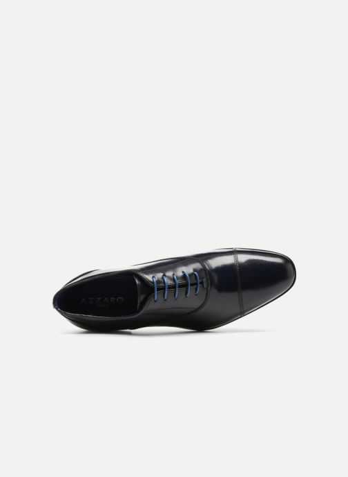 Lace-up shoes Azzaro RAEL Blue view from the left