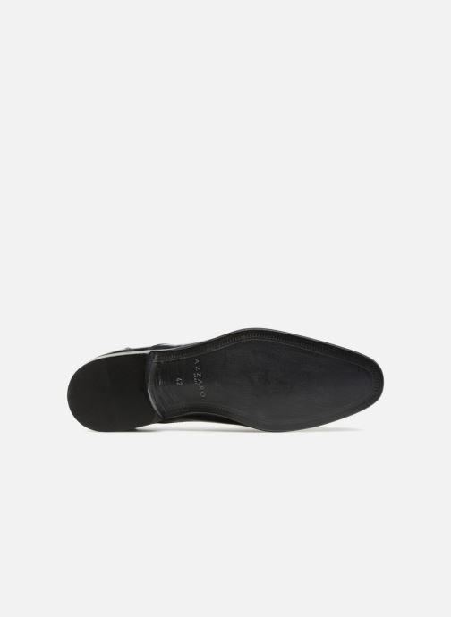 Chaussures à lacets Azzaro RAEL Bleu vue haut