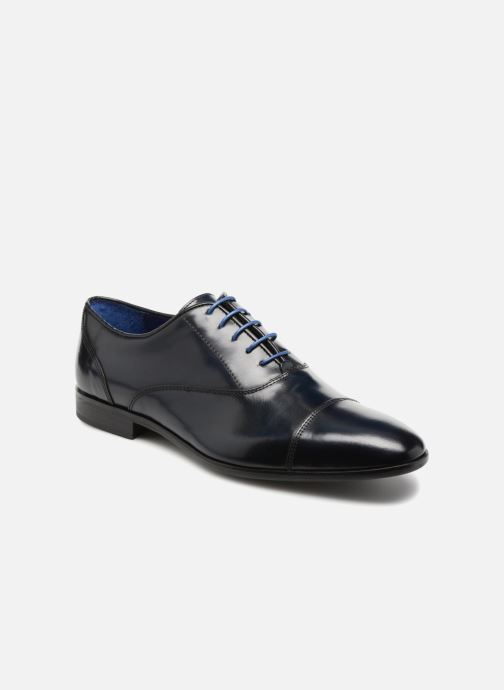 Lace-up shoes Azzaro RAEL Blue detailed view/ Pair view