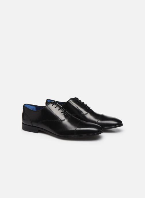 Chaussures à lacets Azzaro RAEL Noir vue 3/4