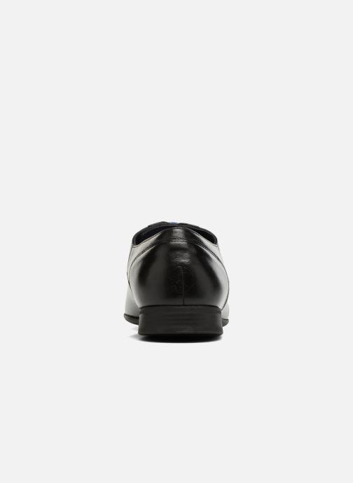 Zapatos con cordones Azzaro AREDLEY Negro vista lateral derecha