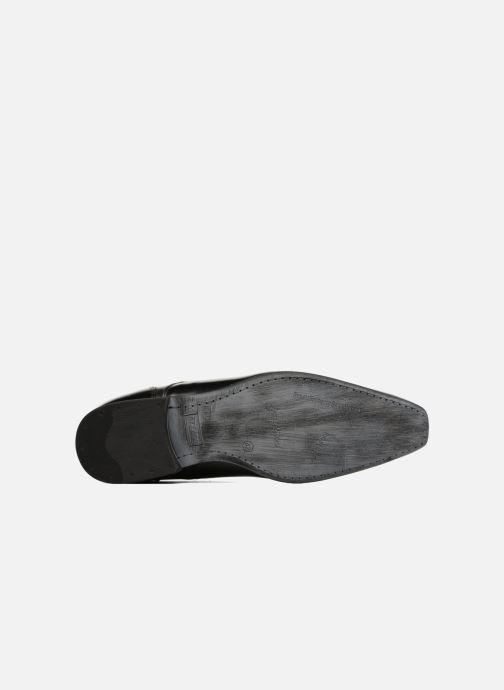 Zapatos con cordones Azzaro AREDLEY Negro vista de arriba