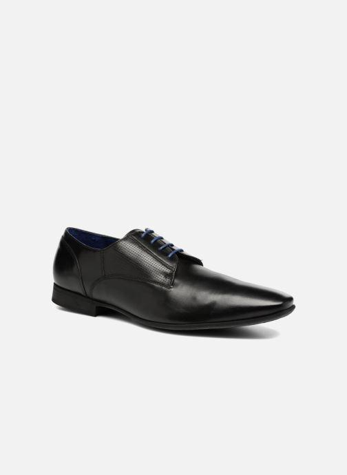 Zapatos con cordones Azzaro AREDLEY Negro vista de detalle / par