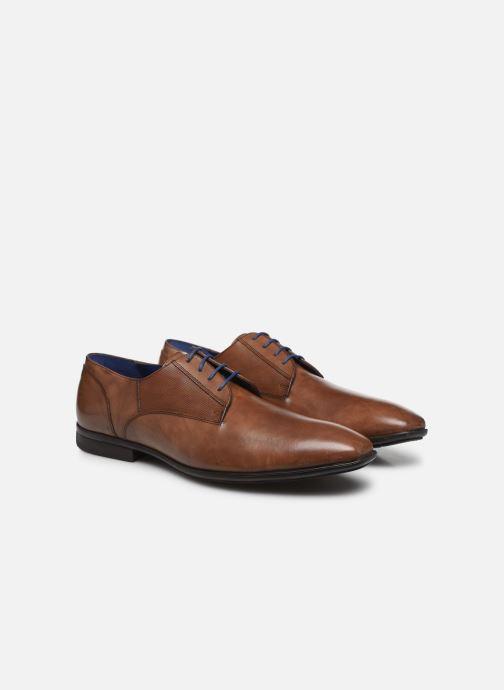 Zapatos con cordones Azzaro AREDLEY Marrón vista 3/4
