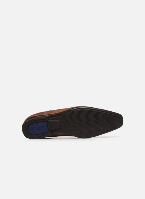 Zapatos con cordones Azzaro AREDLEY Marrón vista de arriba