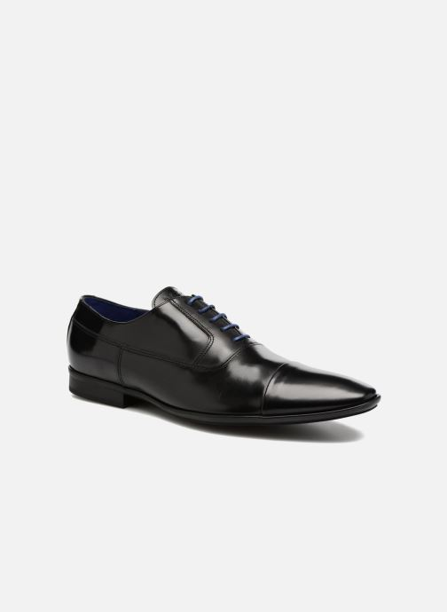 Lace-up shoes Azzaro AVARLIN 96 Black detailed view/ Pair view