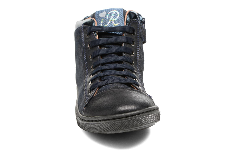 Baskets Romagnoli Elsa Bleu vue portées chaussures
