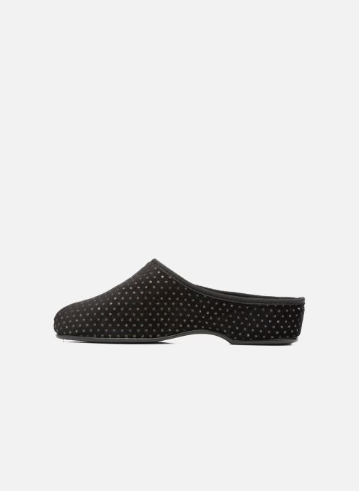 Chaussons Rondinaud Harcy Noir vue face