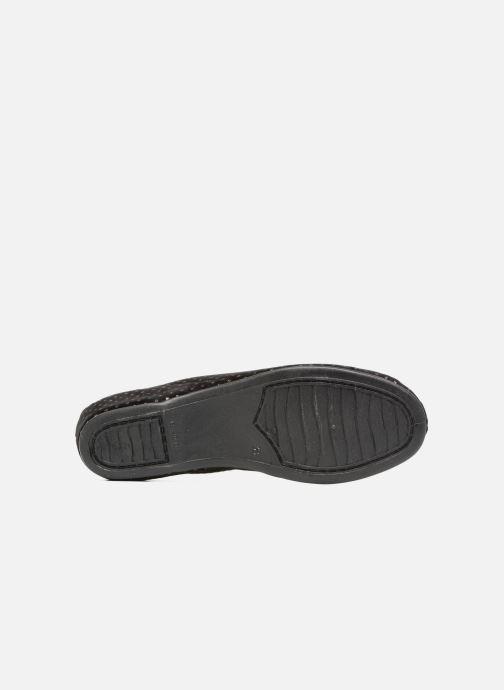Pantofole Rondinaud Harcy Nero immagine dall'alto
