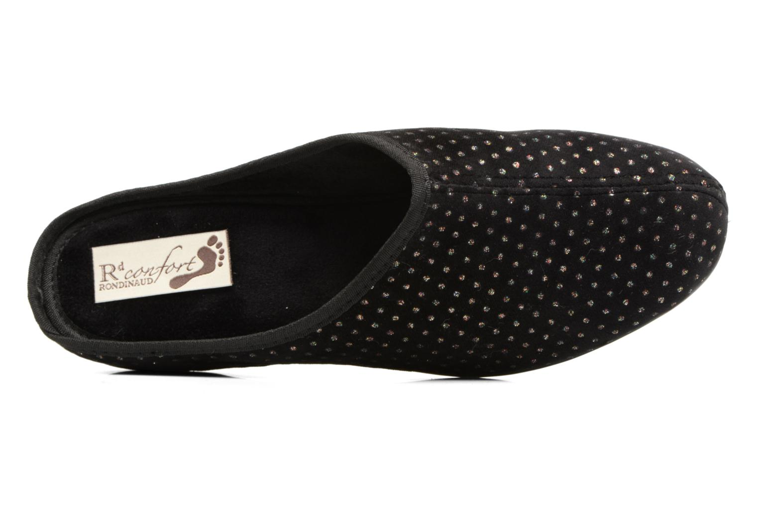 Chaussons Rondinaud Harcy Noir vue gauche
