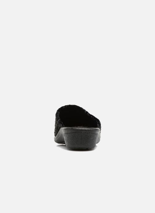 Pantofole Rondinaud Empeaux Nero immagine destra