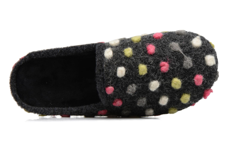 Pantofole Rondinaud Rimarde Grigio immagine sinistra
